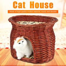 Pet Puppy Dog Kitty Cat Sleeping Bed Nest 2x Soft Warm Cushion Mat Cute House