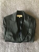 'Karen Millen' Satin Black evening jacket size 8