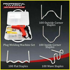 Professional Car Bumper Crack Repair Welding Machine Set J6Z1