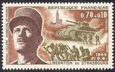 Francia 1969 la Segunda Guerra Mundial/militar/guerra/Ejército/Gen Leclerc/Tanque/Soldados/edificios 1v n41773