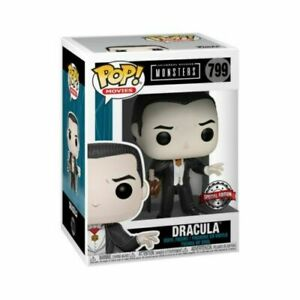 NEW Universal Monsters - Dracula New Pose Exclusive + POP PROTECTOR