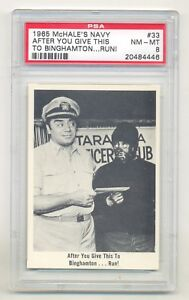 """McHale's Navy #33 After You Give This to Binghamton...Run!"""" PSA 8 NM-MT (1965)"""