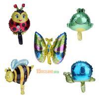 5 Pcs/Pack Cartoon Insect Series Aluminum Foil Mini Balloon Birthday Party Decor