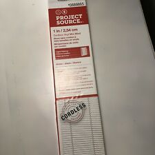 Project Source Cordless Blinds White Fits 30� X 64� Actual 29.5� Home Decor New