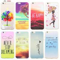 Custodia Cover Design Summer Happy Per Apple iPhone 4 4s 5 5s 5c 6 6s 7 Plus SE