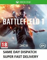 Battlefield 1 Xbox one (Microsoft Xbox One, 2016) - SUPERB - Super Fast Delivery