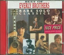 Everly Brothers - Rare Solo Classics Best Of Curb Records Red Tray Cd Perfetto