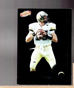 2001 Pacific Prism Atomic Rookie Reaction #16 Drew Brees Rc Chargers HTV 223