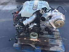 BMW E65 ALPINA B7 ENGINE MOTOR SPORT M  SUPERCHARGER TURBO ASSEMBLY OEM