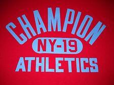 Champion Athletics T-Shirt Large - NEW w/Tags