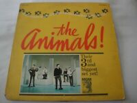 The Animals! Animal Tracks 3rd Album Vinyl Lp MGM Records Stereo