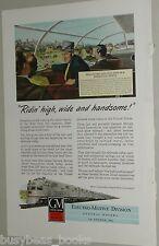 1948 General Motors Diesel advertisement, BURLINGTON RR EMD pair