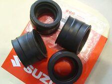 Set of 4 Genuine Suzuki Inlet Intake Pipes GSX750 ET (1980) GSX750 EX (1981)