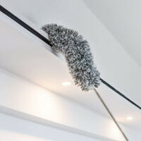 Microfiber Duster Long Extension Pole Bendable Lint Free Dusters for Ceiling