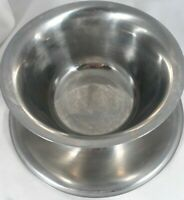 Vintage Wm.A Rogers Silver Plated Dip Bowl with attached saucer Dish