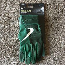 Nike Force Elite Baseball Batting Gloves Adult Size Large L Green PGB644-336