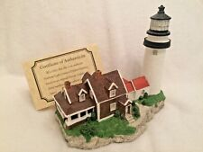 Harbour Lights 161 Highland Cape Cod, Ma Lighthouse 1995 Coa Box