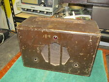 Western Electric 100F Loudspeaking Set Amplifier Speaker Empty Cabinet Only,