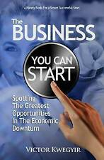 The Business You Can Start: Spotting The Greatest Opportunities In The Economic