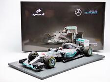 Spark Mercedes F1 W06 Winner Australia 2015 L. Hamilton #44 1/18 New! In Stock!