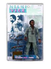 "MIAMI VICE TV Ricardo ""Rico"" Tubbs Gray Suit 9"" Action Figure Unopened NEW"