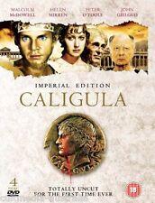 CALIGULA (1979) UNCUT NEW 4 DVD 3 MOVIE VERSIONS IMPERIAL EDITION BOXSET R4