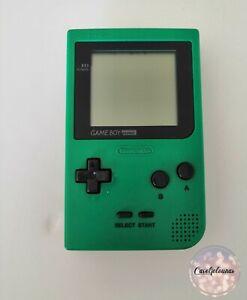 Nintendo Console Game Boy GameBoy Pocket Verte GBP MGB-001 pour pièces HS