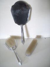 Vintage Vanity Set Mirror Brush