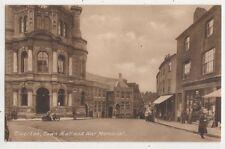 Tiverton Town Hall & War Memorial Devon 1936 Postcard 561b