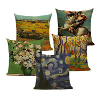 Deluxe FAMOUS PAINTING ART Cushion Covers! Classic Vintage Retro 45cm Gift UK