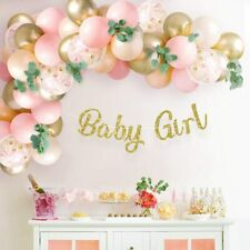 Baby Shower Decorations for Girl | with Pink Balloon Arch Garland Kit Baby