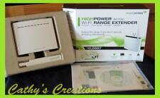 Amped Wireless - High Power AC1750 Wireless Wi-Fi Range Extender – White REC33A