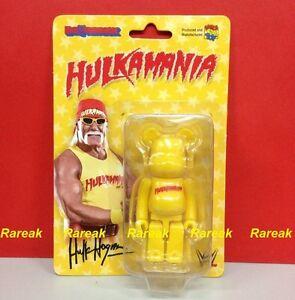 Medicom Bearbrick 2014 WWT Hulk Hogan Hulkamania 100% Be@rbrick