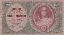 Austria 50000 Kronen 1922 (B628)