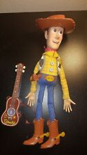 Toy Story Woody Pull String 2001 with Guitar Complete Works Hasbro Pixar