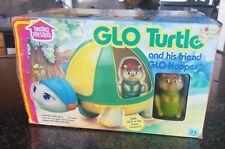 Vintage Hasbro Preschool Glo Turtle with Friend Glo Hopper MiB 1985