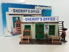 Playmobil 3423 v3 - Western Sheriff's Office (OVP Outline Box, Klicky)