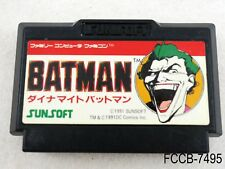 Dynamite Batman Return of the Joker Famicom Japanese Import FC NES US Seller B
