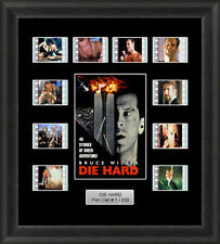 Die Hard Framed 35mm Film Cell Memorabilia Filmcells