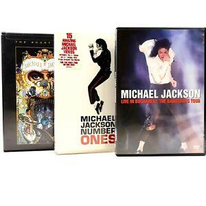 Michael Jackson Music Bucharest Number Ones Bundle DVD R4 Sealed & GC