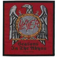 OFFICIAL LICENSED - SLAYER - SEASONS IN THE ABYSS SEW-ON PATCH THRASH METAL