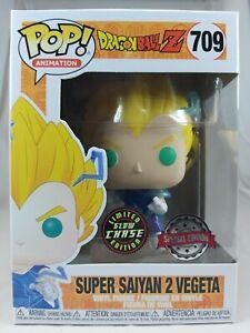 Animation Funko Pop - Super Saiyan 2 Vegeta (Chase) - Dragon Ball Z - No. 709