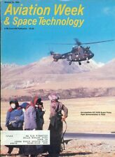 1984 Aviation Week & Space Technology Magazine: Aerospatiale AS 332B Super Puma