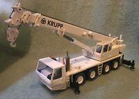 Krupp KMK 4070 Telescopic Crane White Heavy 1:50 Russian Teleskopkran MIB 70 Ton