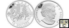 2013 Canadian Holiday Season-O Canada Prf $10 Silver Coin .9999 Fine(NT)(13129)