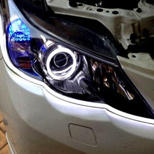 2Pcs 45cm Auto Car Soft Tube LED Strip Light DRL Turn Signal Lamp Accessories