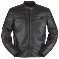 Furygan Legend Leather Motorcycle Motorbike Vintage Retro  Jacket size XL