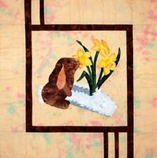 Daffodils & Bunny Quilt sewing pattern  by Melanie Formway Chang