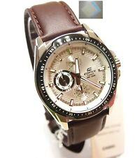 Casio EF-336L-7 Analog Edifice Gents Dress White Watch 100% Original + (Gift)