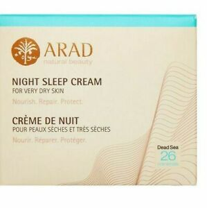 Arad Natural Beauty Night Sleep Cream For Very Dry Skin 50ml